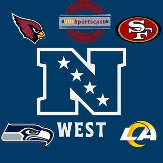 NFL NFC West breakdown. 17 games season! NBA trades. Harden for MVP.