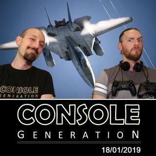 Ace Combat 7, Tales of Vesperia e altro! - CG Live 18/01/2019