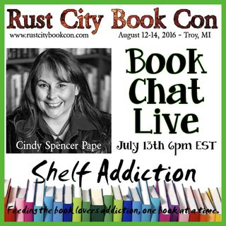 Ep 14: Author Interview with Cindy Spencer Pape | Book Chat LIVE
