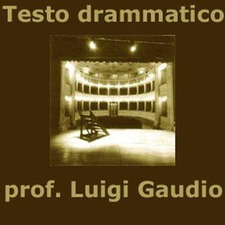 Teatro e testo drammatico