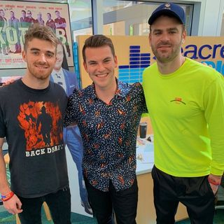 Blake Eason interviews Alex and Drew from The Chainsmokers!