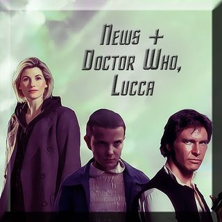 News + Doctor Who & LuccaCG2017