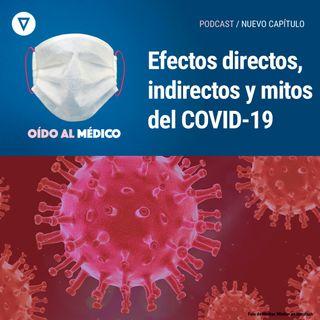 Capítulo 14: Efectos directos, indirectos y mitos del COVID-19