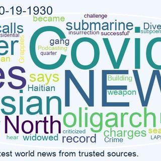 World News 2021-10-19-1930