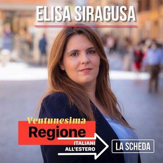 Ventunesima regione - Elisa Siragusa, la scheda