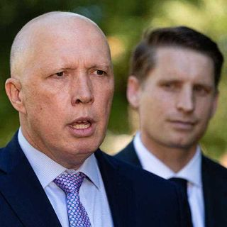 Australia's new defence minister @PeterDutton_MP performing strongly with strong stance on China