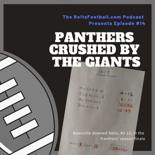 Episode 14: Panthers crushed by the Giants