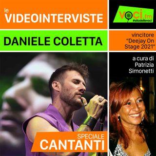 DANIELE COLETTA su VOCI.fm - clicca PLAY e ascolta l'intervista