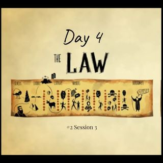 1 April 2019 (#2 Session 3) Day 4 - The Law