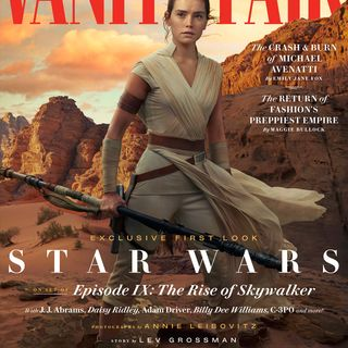 A Star Wars Podcast: Vanity Fair and Reylo's Red Thread-Fate