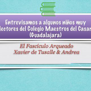 Entrevistamos a algunos niños muy lectores en el CEIP Maestros del Casar (Guadalajara)