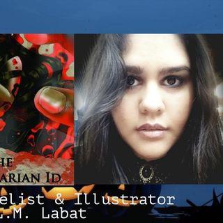 L.M. Labat Horror Novelist  Illustrator 10-7-18