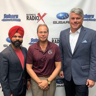 Bill Neglia of Neglia Insurance Group, Todd Evans of Pieper O'Brien Herr Architects, and Roop Singh of Intuit Factory