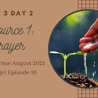 Episode 16-Reset to Pursue Week 3 Start Planting