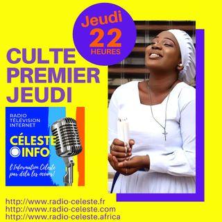 PREMIER JEUDI  -  JOUR DE CULTE