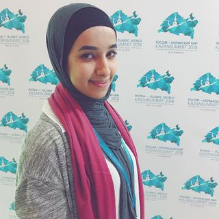 Mini Interview with Esra'a Alsanie of Evantex at the Kazan Youth Entrepreneurship Forum