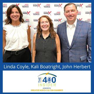 John Herbert and Linda Coyle, Milton Business Council