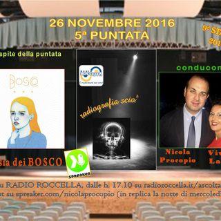 Radiografia Scio' - N.5 del 26-11-2016