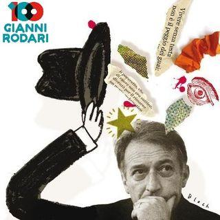 Rosalinda legge Rodari con Caroline