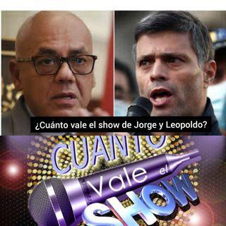Podcast Así amanece Venezuela ¿Cuánto vale el show de Jorge y el de Leopoldo?