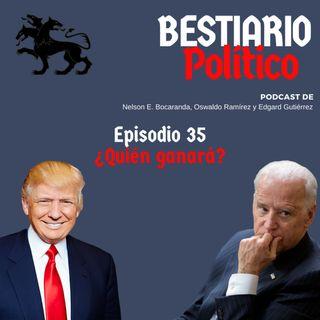 Bestiario Político 35. A una semana de las elecciones en USA, ¿ganará Trump o Biden?