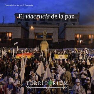 El viacrucis de la paz