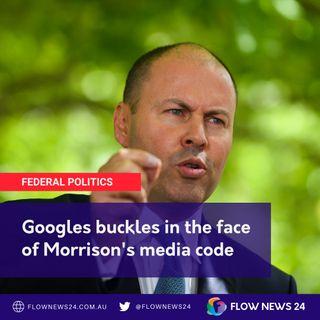 Google's response to Morrison-Frydenberg media code