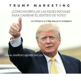 El Marketing de Trump , Big Data y manipulación en las redes.