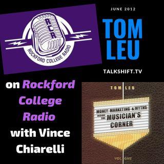 Tom Leu on Rockford College Radio
