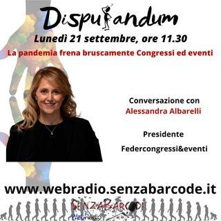 Alessandra Albarelli Presidente Federcongressi&eventi