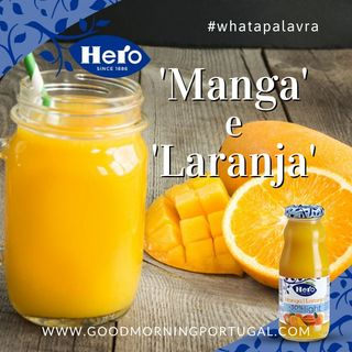 Good Morning Portugal! What a Palavra? 'Manga' e 'Laranja'