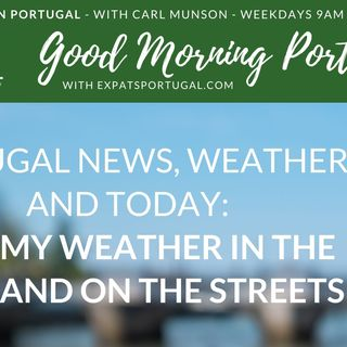 Portugal: stormy weather in the skies and on the streets