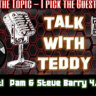 E011 Talk with Teddy -The Barrys, Gettysburg Ghost Exchange,   Join Talk with Teddy!