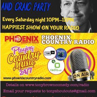 Tony's Irish Country and Craic Party 31st July 21