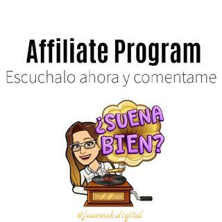 #5- ¿Affiliate Program? Marketing de afiliados 👩💻 Programa De Afiliados