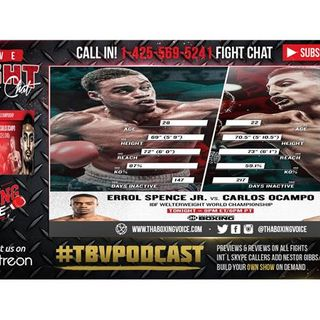 Errol Spence Jr vs Carlos Ocampo LIVE FIGHT CHAT & IMMEDIATE REACTION🥊