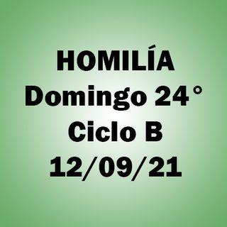 Homilía. Domingo 12 sep. 2021. P. A.