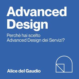 Alice, iscritta al 1° anno di Advanced Design Università di Bologna