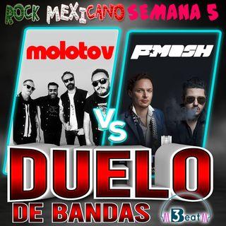 5to Duelo de Bandas de Rock Mexicano Molotov vs Plastilina Mosh