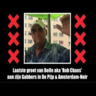 Laatste groet van Robbie Bolle aka 'Rob Chaos' aan zijn Gabbers in De Pijp & Amsterdam-Noir.