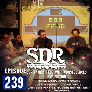 Alana Luv & Various Comedians (Porn Star) - SDR Family Feud With Consequences NYE Edition