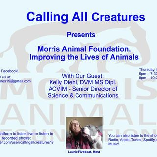 Calling All Creatures Presents Morris Animal Foundation, Improving the Lives of Animals