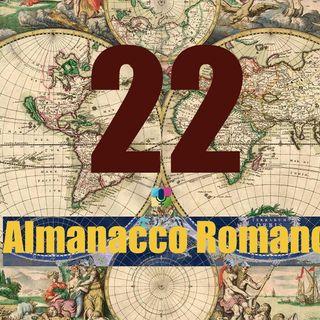 Almanacco romano, 22 marzo