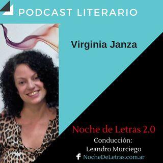 NOCHE DE LETRAS 2.0 #90, con Virginia Janza
