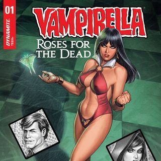 "Source Material #238 - Super Blog Team Up - Vampirella - ""Roses For The Dead"" (2018, Dynamite)"