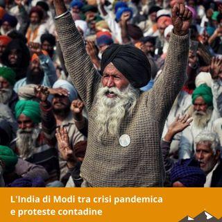 L'india di Modi tra crisi pandemica  e proteste contadine