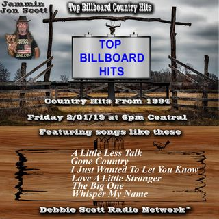 Top Billboard Country Music Hits from 1994 2-1-19
