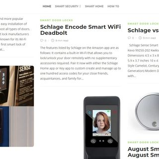 Schlage Encode Smart WiFi Deadbolt - Best Smart Locks For Home Security