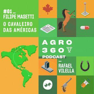 Filipe Masetti: O cavaleiro das Américas