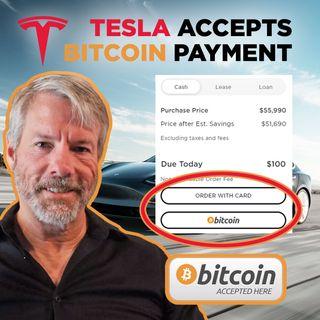 35. Tesla Accepts Bitcoin Payment | Michael Saylor